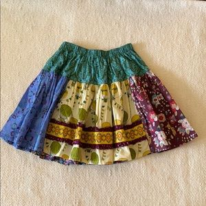 Matilda Jane Paint by Numbers Skirt Size 8